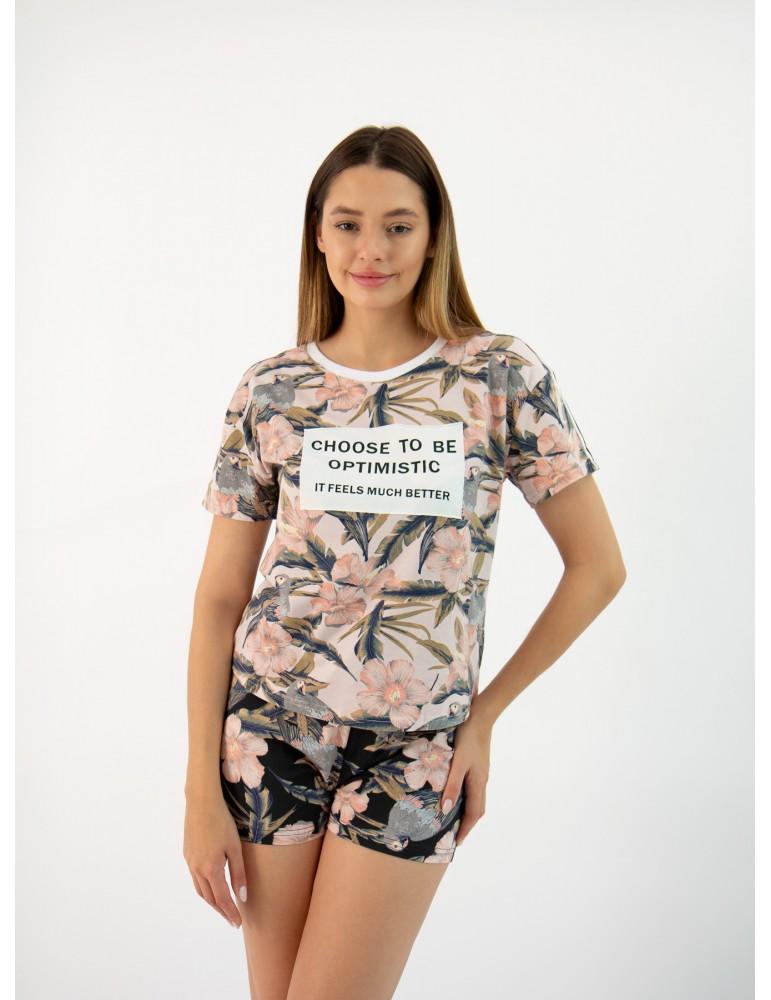 INDEFINI Пижама с шортами TBD0104