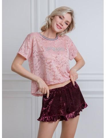 INDEFINI Пижама с шортами TBD0166
