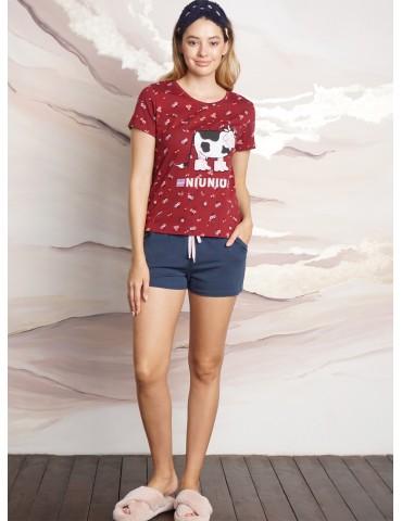 INDEFINI Пижама с шортами TBD0171