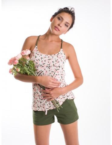 INDEFINI Пижама с шортами 518066