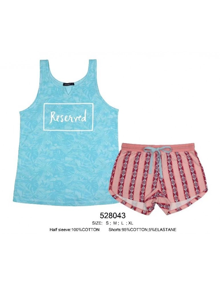 INDEFINI Пижама с шортами 528043