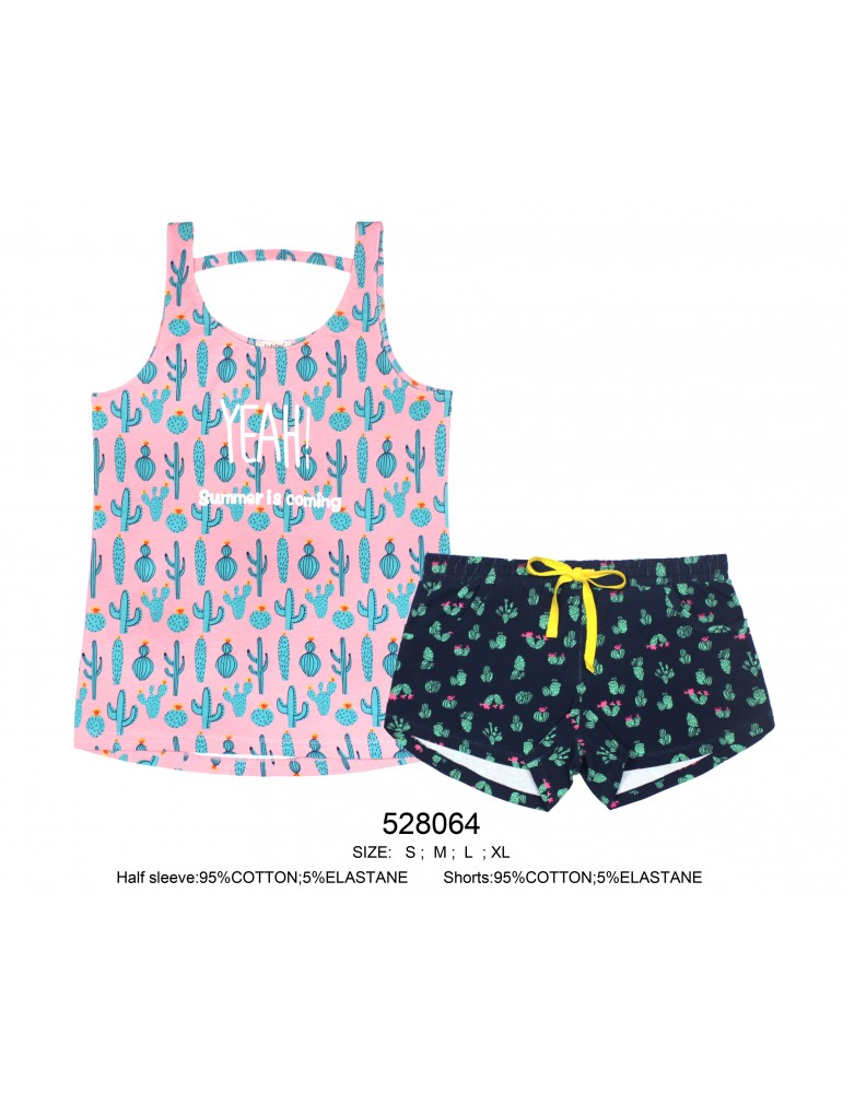 INDEFINI Пижама с шортами 528064