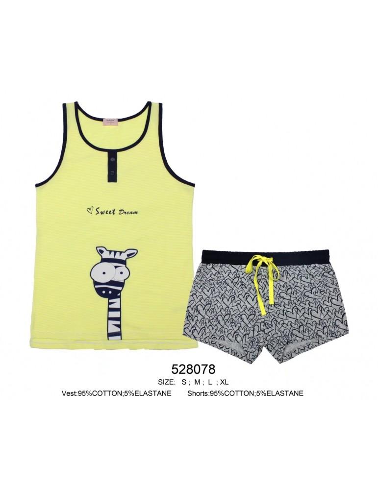 INDEFINI Пижама с шортами TBD8078 (528078)
