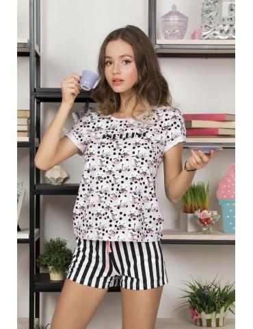 INDEFINI Пижама с шортами TBD9061