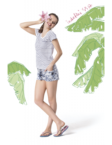 INDEFINI Пижама с шортами 536024
