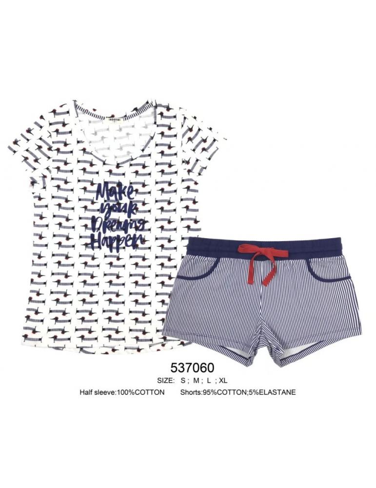 INDEFINI Пижама с шортами 537060