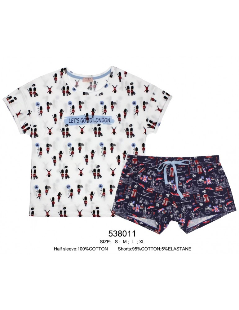 INDEFINI Пижама с шортами 538011