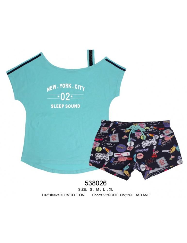 INDEFINI Пижама с шортами 538026