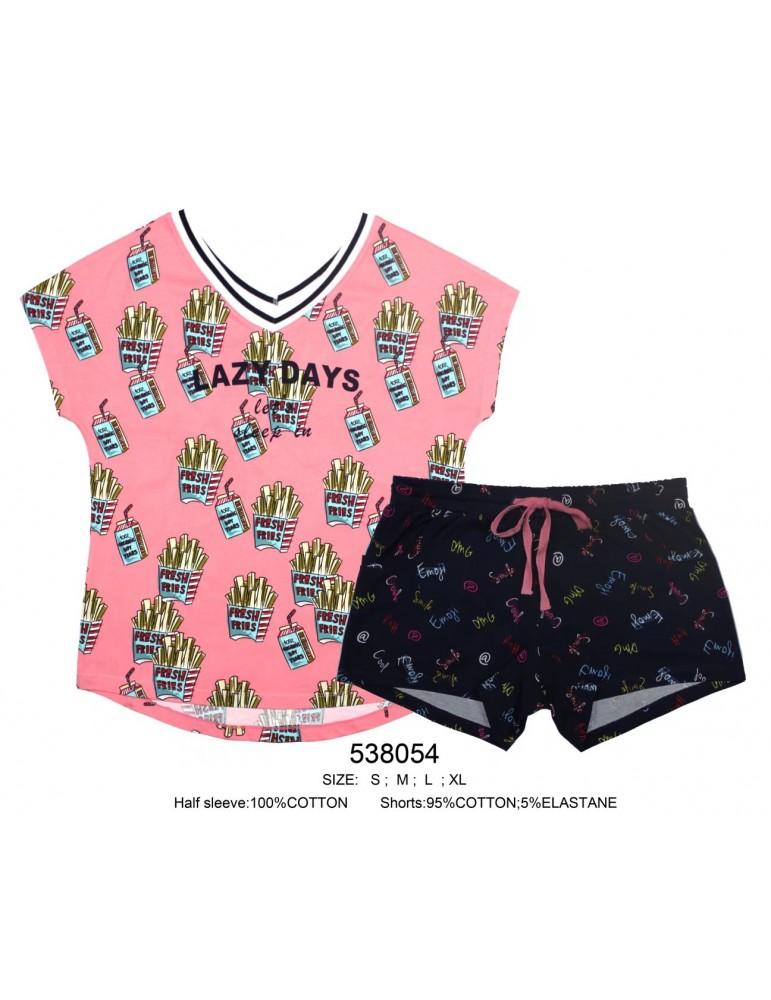 INDEFINI Пижама с шортами 538054