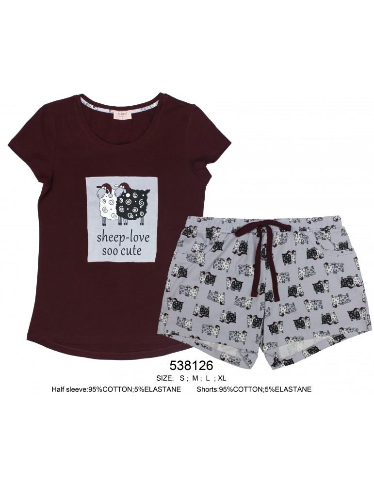 INDEFINI Пижама с шортами 538126