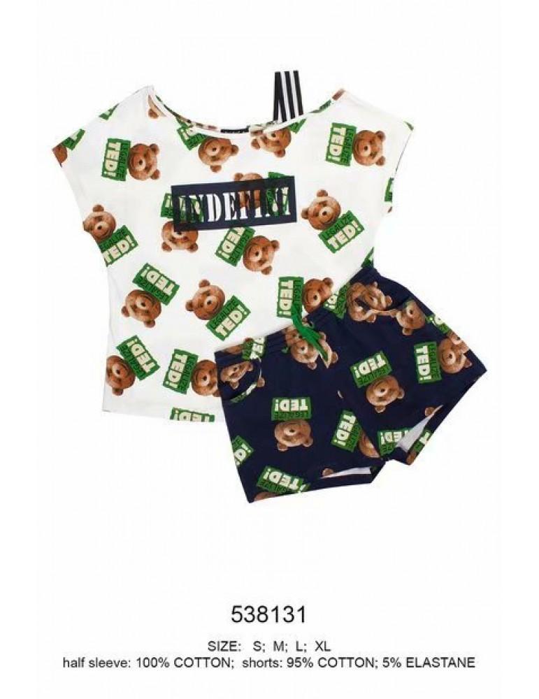INDEFINI Пижама с шортами 538131