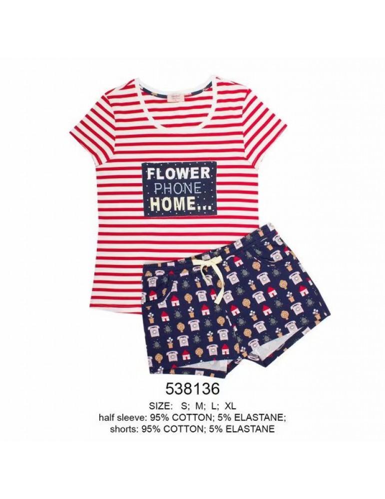 INDEFINI Пижама с шортами 538136