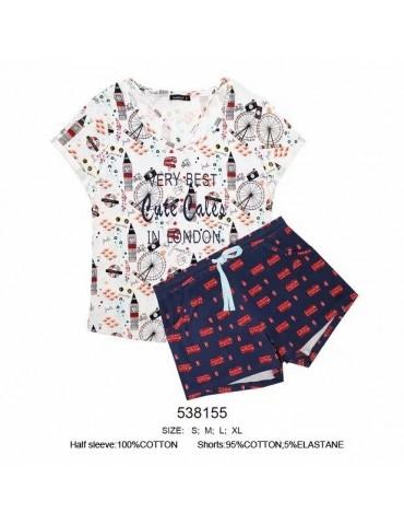 INDEFINI Пижама с шортами 538155