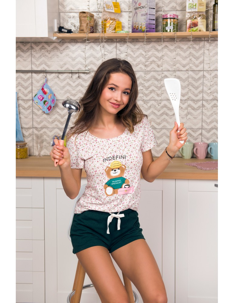 INDEFINI Пижама с шортами TBD8182