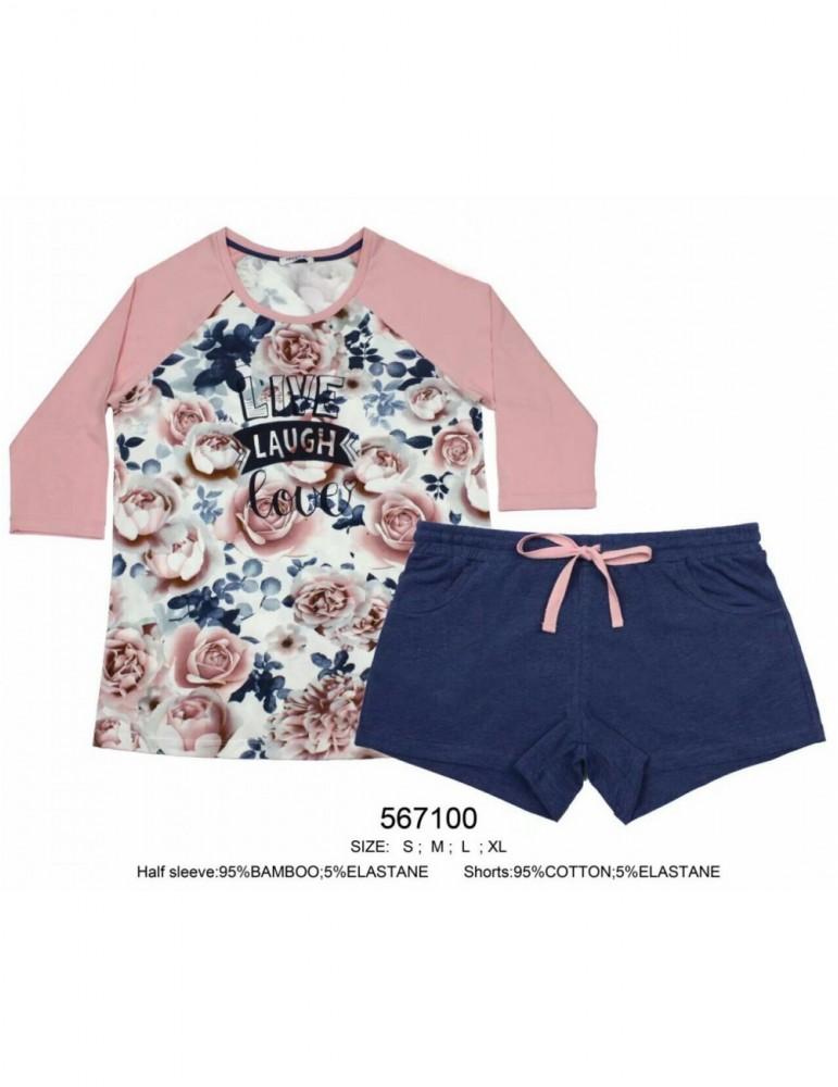 INDEFINI Пижама с шортами 567100