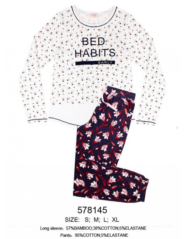 INDEFINI Пижама с брюками 578145