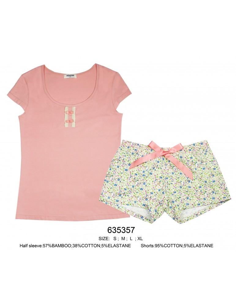 Костюм с шортами Indefini арт.635357 футболка с шортами