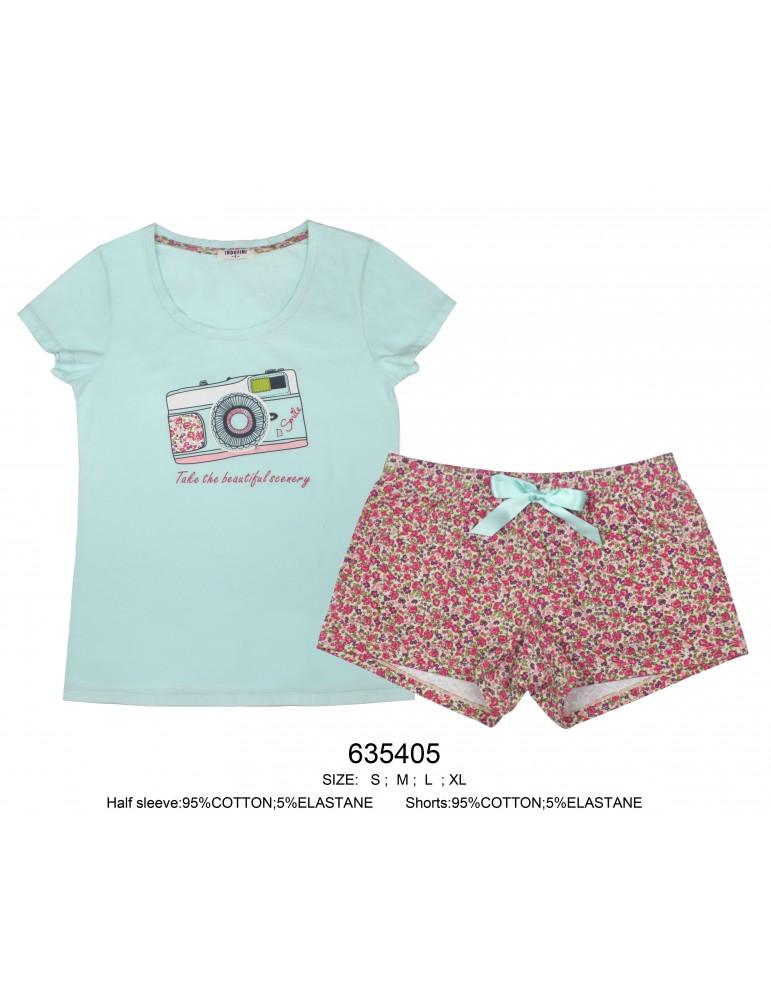 INDEFINI Пижама с шортами 635405