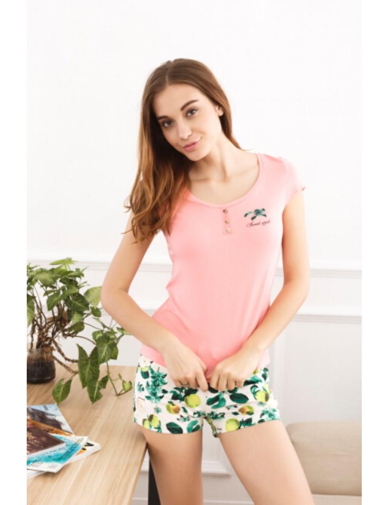 Костюм с шортами Indefini арт.635412 футболка с шортами