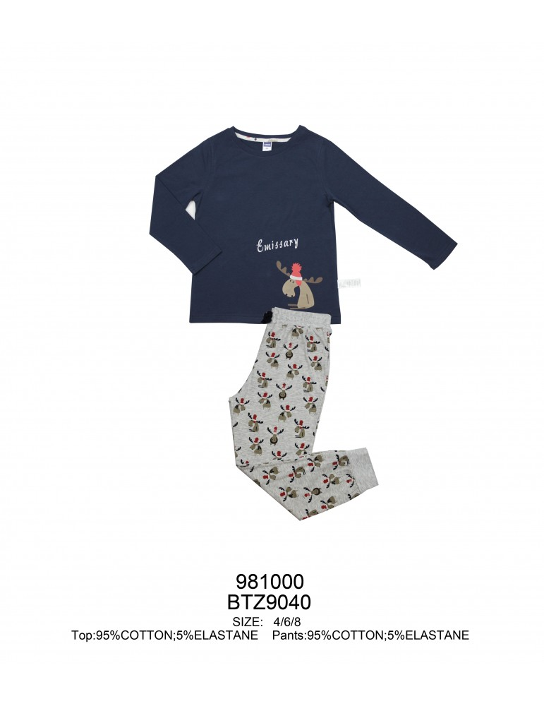 INDEFINI Детская пижама BTZ9040