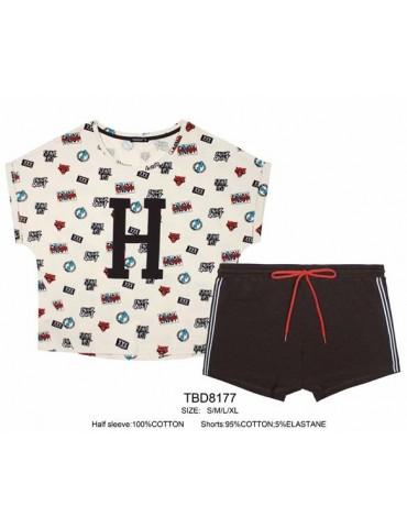 INDEFINI Пижама с шортами TBD8177