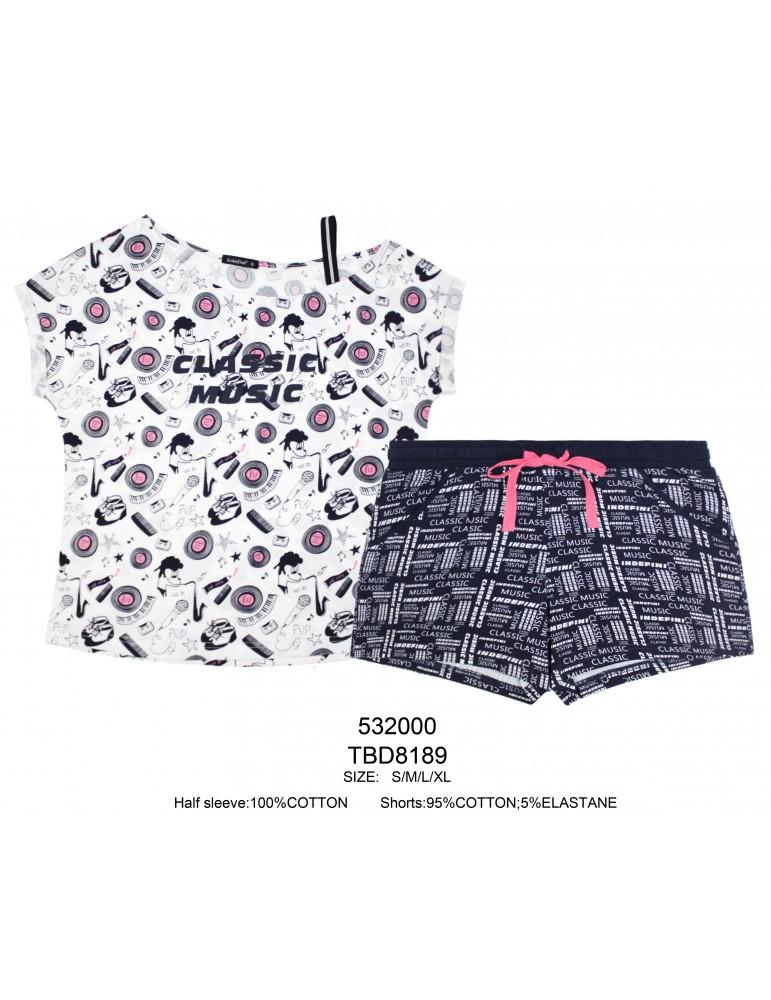 INDEFINI Пижама с шортами TBD8189