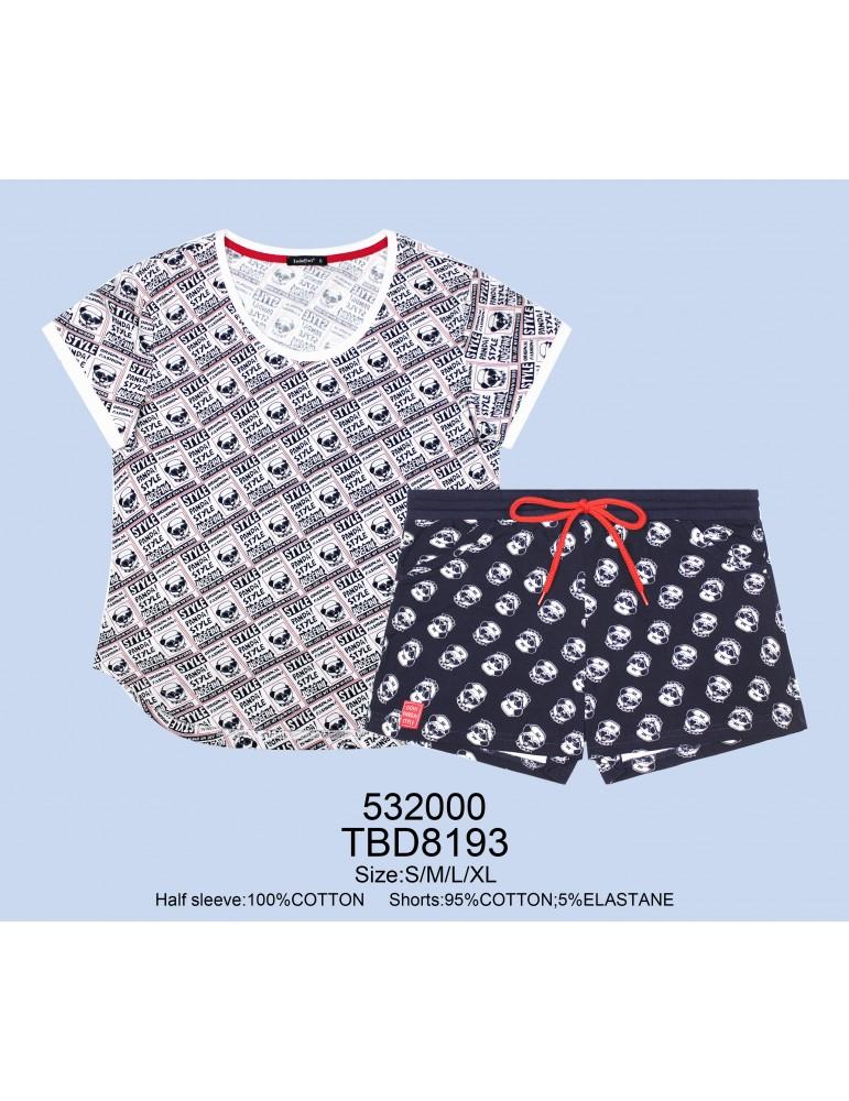 INDEFINI Пижама с шортами TBD8193