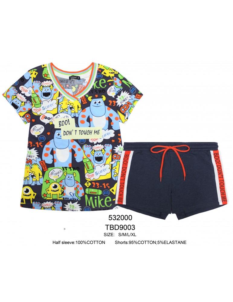 INDEFINI Пижама с шортами TBD9003