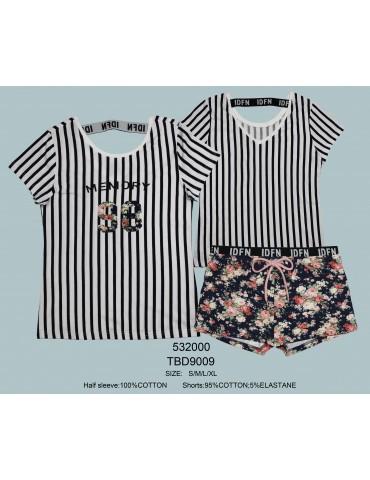 INDEFINI Пижама с шортами TBD9009