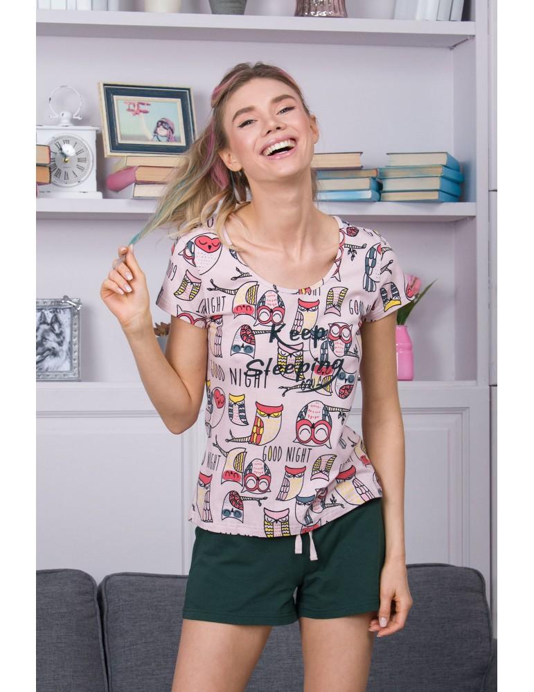INDEFINI Пижама с шортами TBD9026