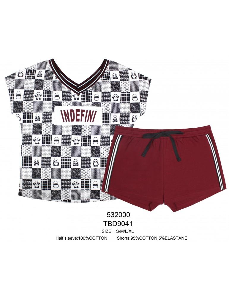 INDEFINI Пижама с шортами TBD9041
