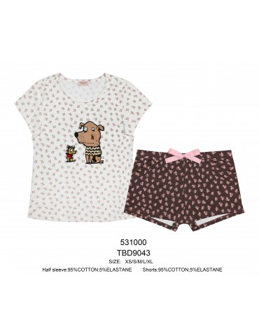 INDEFINI Пижама с шортами TBD9043