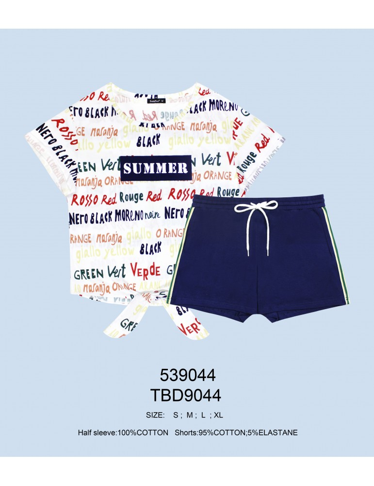 INDEFINI Пижама с шортами TBD9044