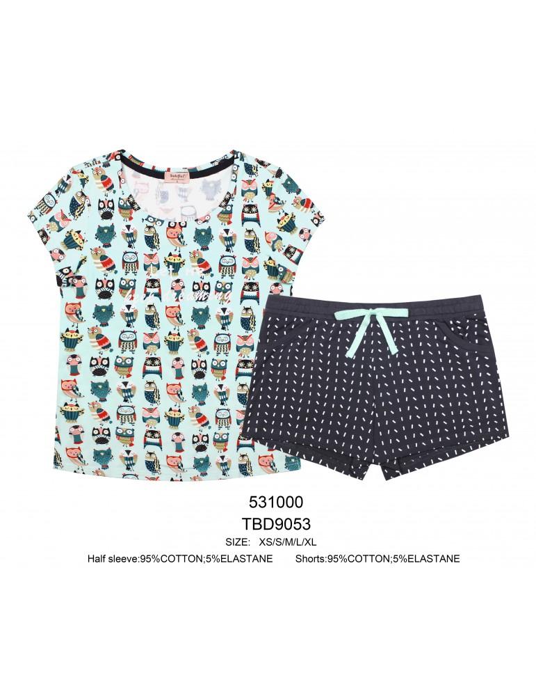 INDEFINI Пижама с шортами TBD9053