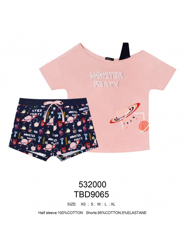 INDEFINI Пижама с шортами TBD9065