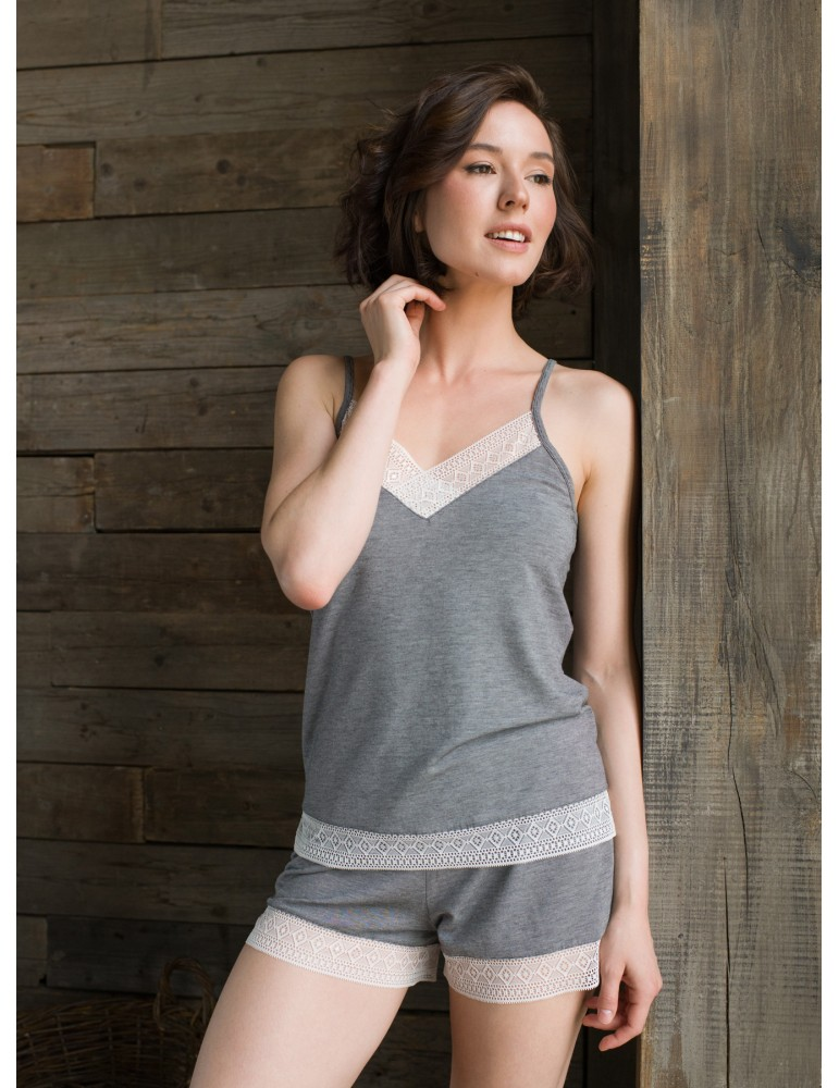 INDEFINI Пижама с шортами TDP9075