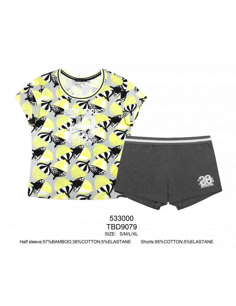 INDEFINI Пижама с шортами TBD9079