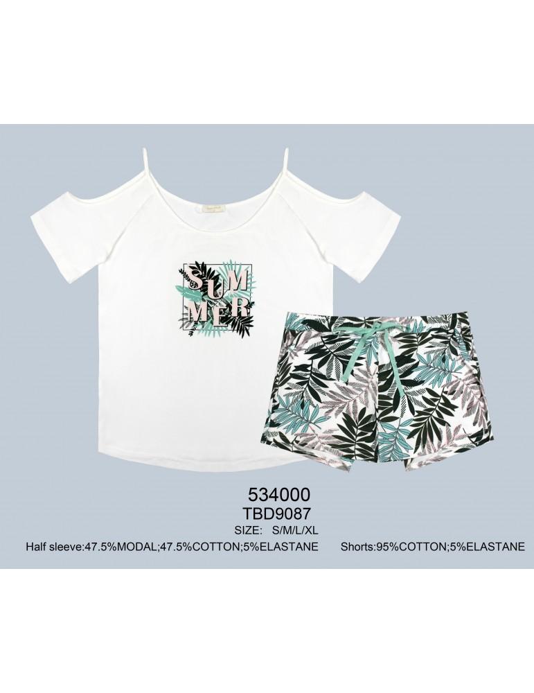 INDEFINI Пижама с шортами TBD9087