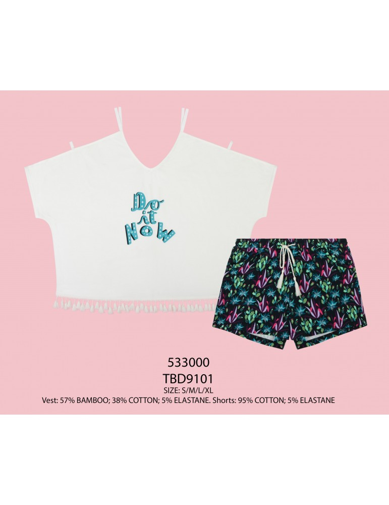 INDEFINI Пижама с шортами TBD9101