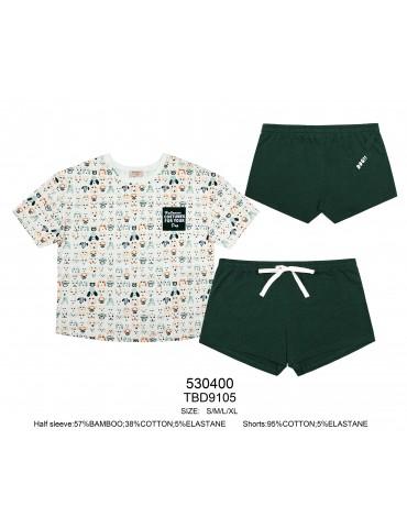 INDEFINI Пижама с шортами TBD9105