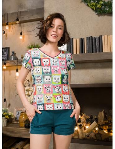 INDEFINI Пижама с шортами TBD9108