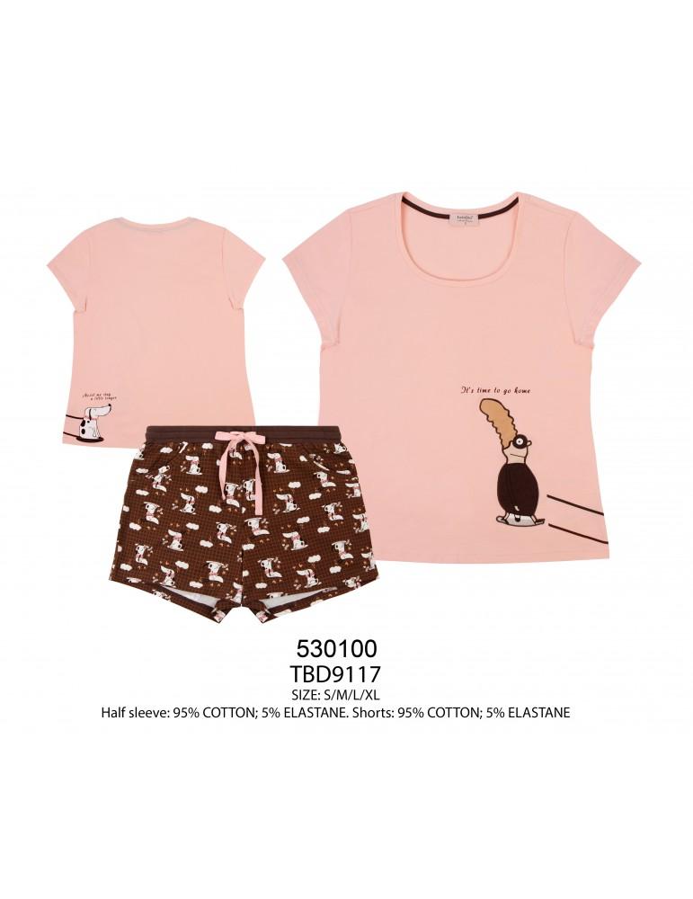 INDEFINI Пижама с шортами TBD9117