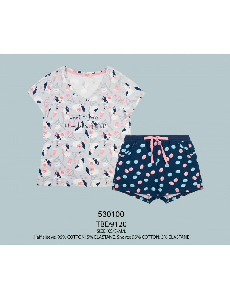 INDEFINI Пижама с шортами TBD9120
