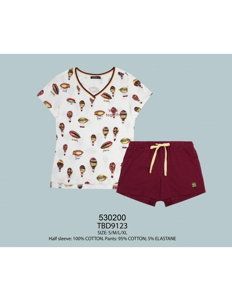 INDEFINI Пижама с шортами TBD9123