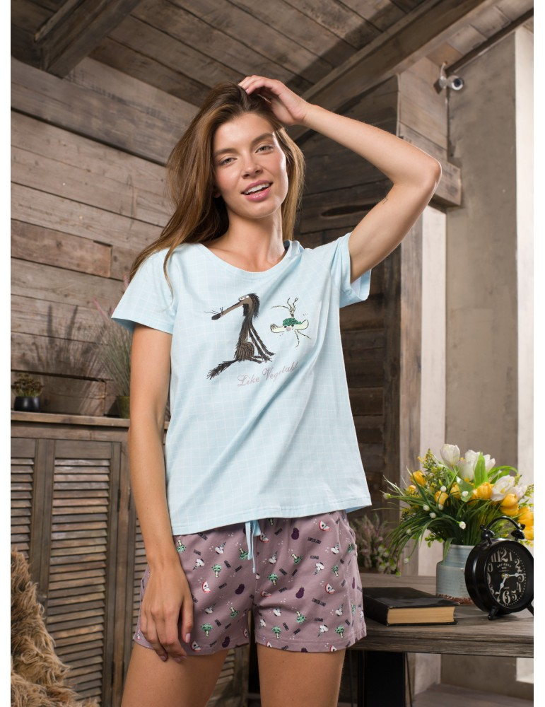 INDEFINI Пижама с шортами TBD9129