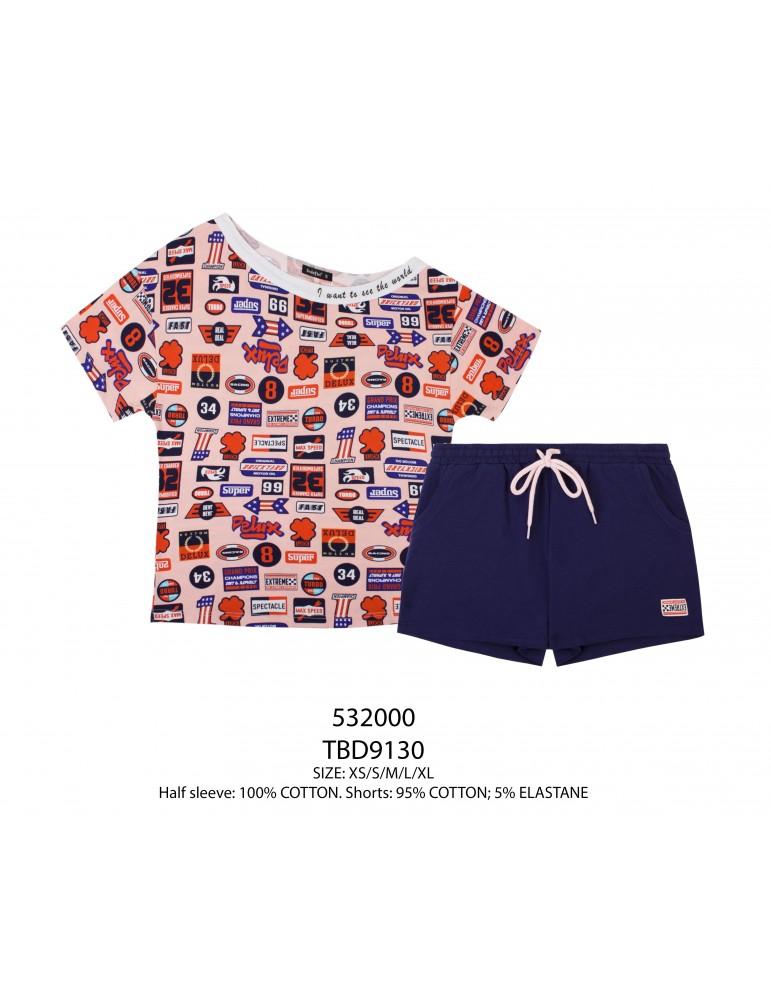 INDEFINI Пижама с шортами TBD9130
