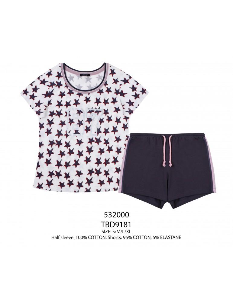 INDEFINI Пижама с шортами TBD9181
