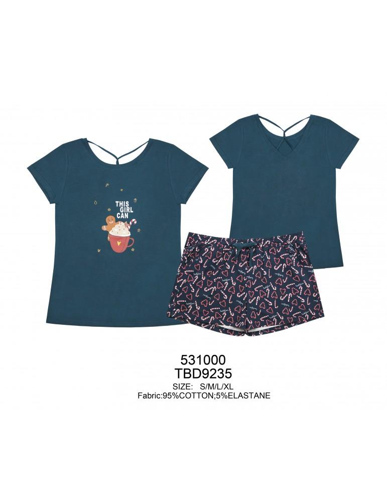 INDEFINI Пижама с шортами TBD9235