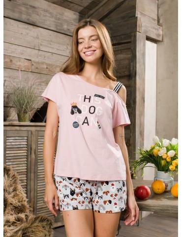 INDEFINI Пижама с шортами TBD9236