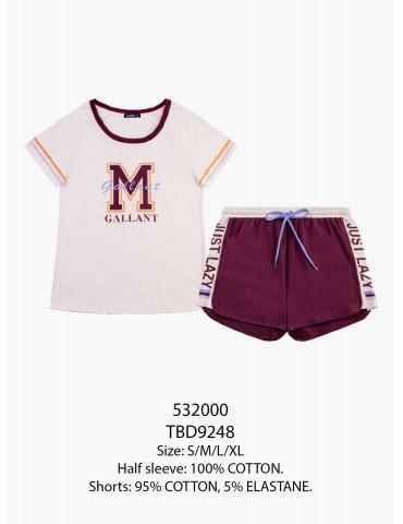 INDEFINI Пижама с шортами TBD9248